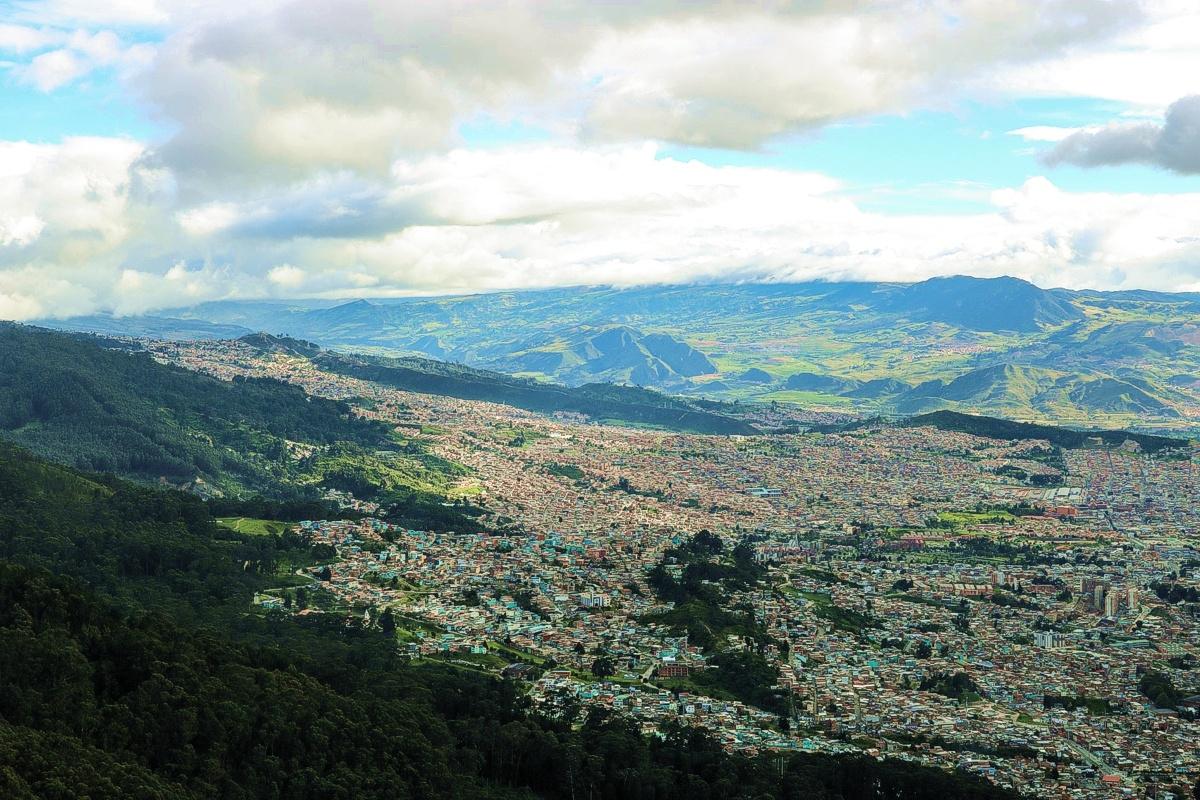 Cerros surorientales - Bogotá